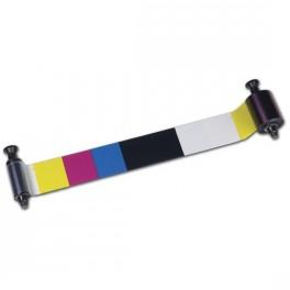 Evolis cinta 5 medio-paneles YMCKO 400 impresiones