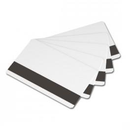 Cartes blanches 0,76mm à piste magnétique LoCo - Boîte de 500