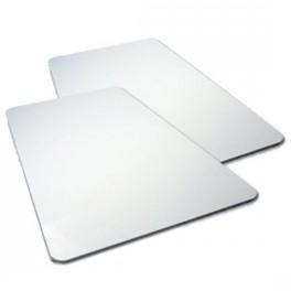 Carte blanche pour imprimante Evolis 0,76 mm - Boîte de 500